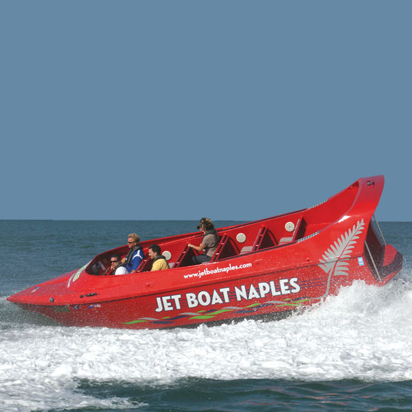 7.6m Commercial Jet Boat Design