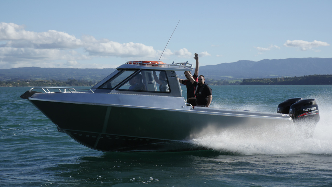 8m aluminium fishing boat