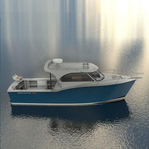 Makaira Boats 840 Hardtop