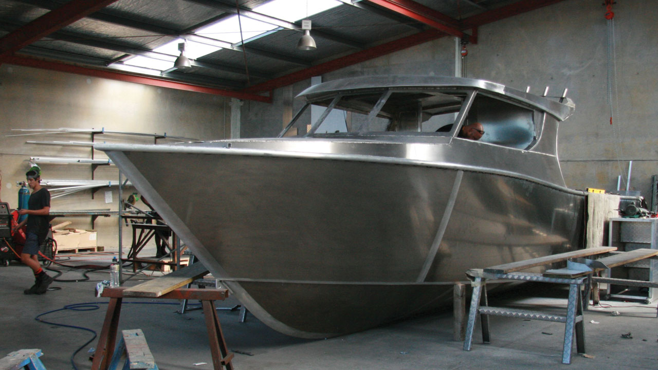 Aluminum Boat Construction : Our process