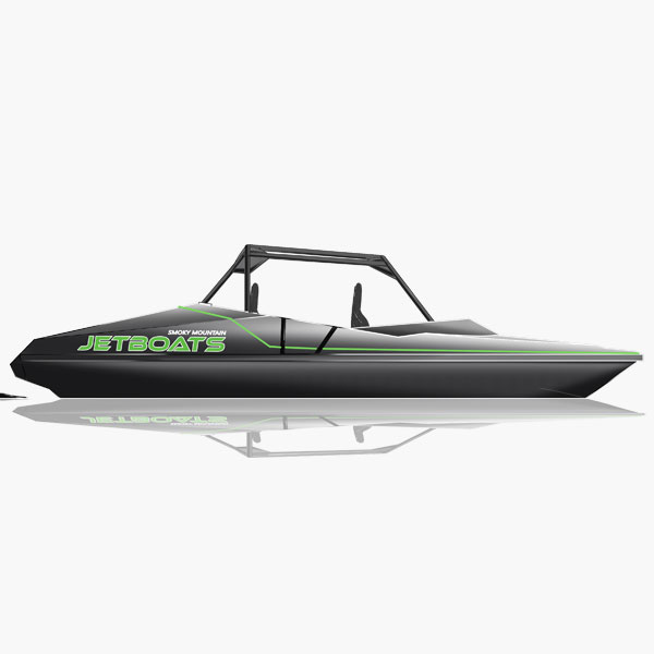 SMOKY MOUNTAIN 4 SEATER JET BOAT DESIGN