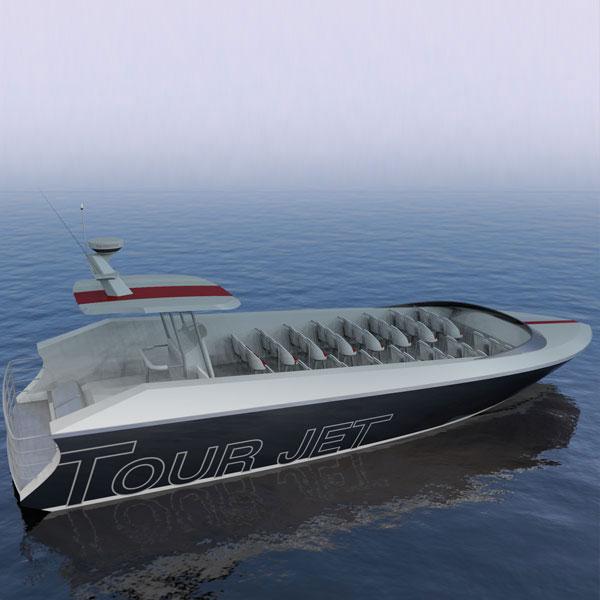 14.9m Tour Jet Boat