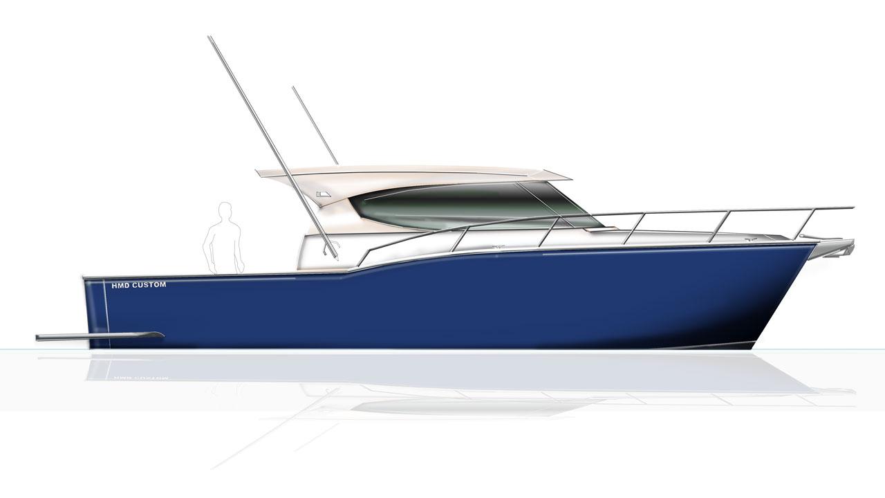 12m Custom aluminium Boat