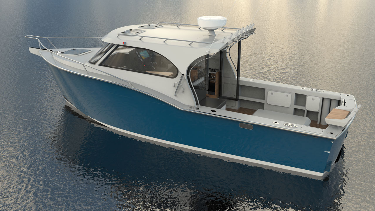 Maikaira Boats 840 Custom Design