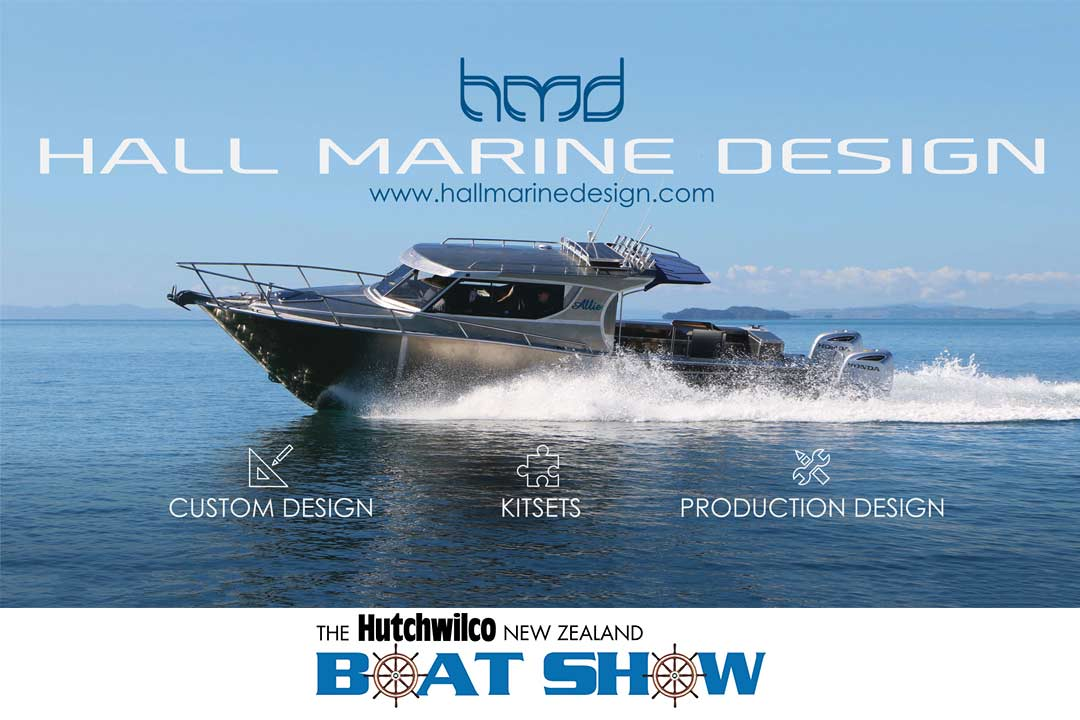 Hall marine design auckland on water boast show