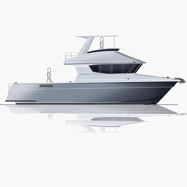 12.7m Power Catamaran Dive Boat