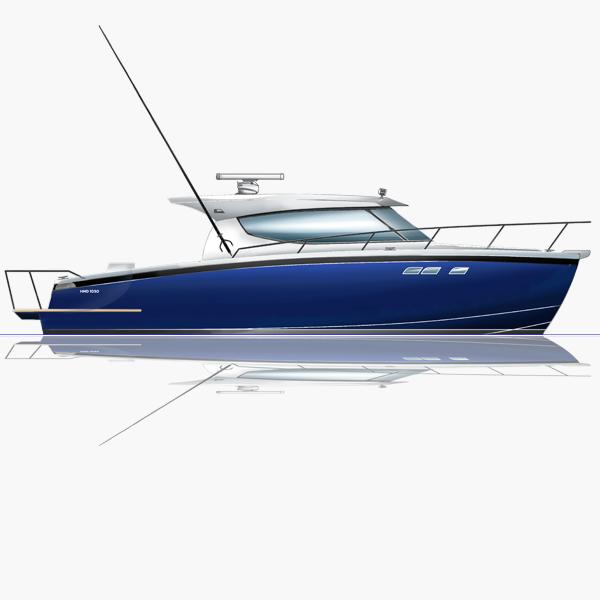 1050 Power Catamaran